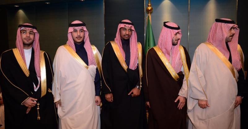 تغطية صحيفة المواطن زواج الأمير ماجد بن مساعد (91385904) 