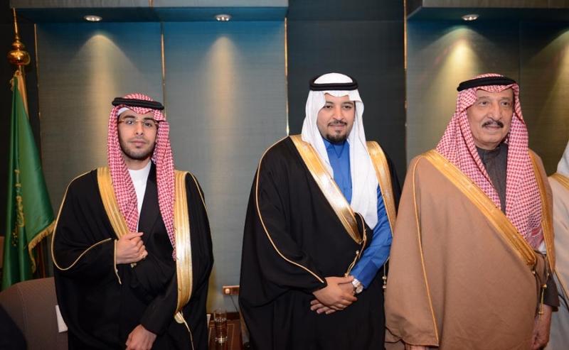 تغطية صحيفة المواطن زواج الأمير ماجد بن مساعد (91385905) 