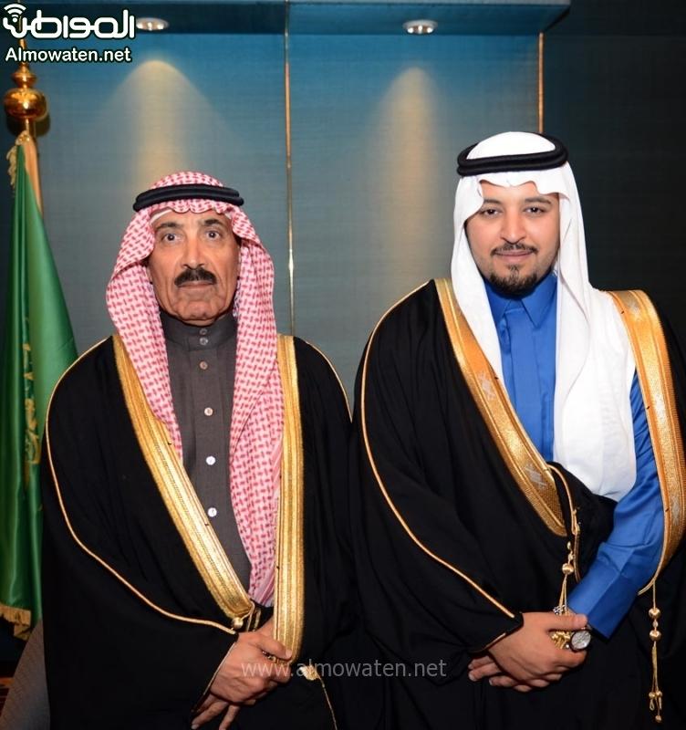 تغطية صحيفة المواطن زواج الأمير ماجد بن مساعد (91385907) 