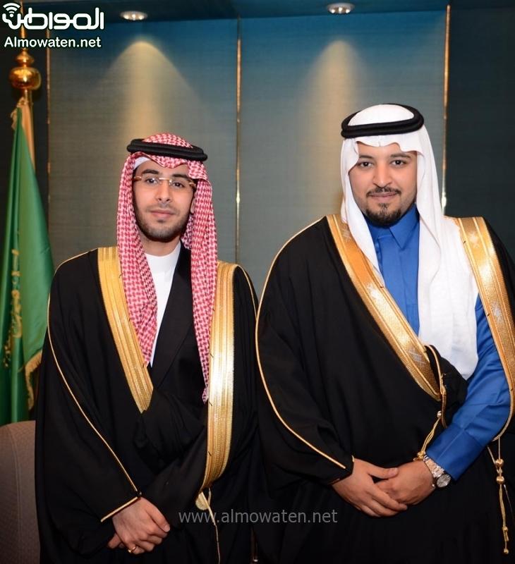 تغطية صحيفة المواطن زواج الأمير ماجد بن مساعد (91385908) 