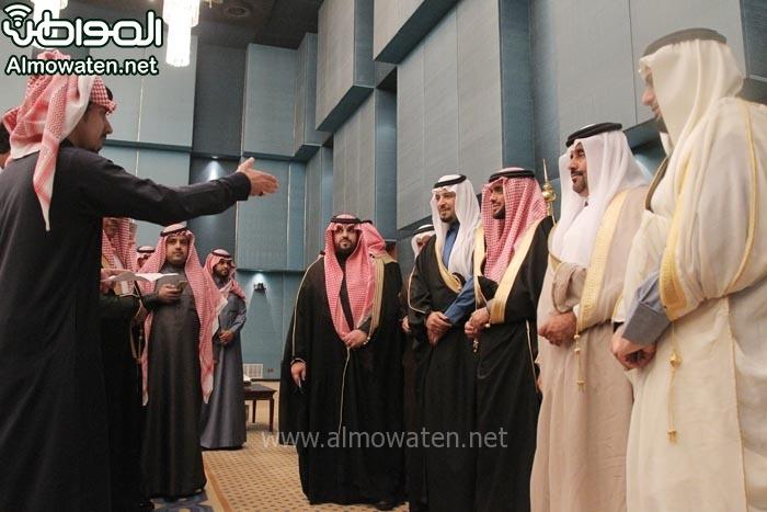 تغطية صحيفة المواطن زواج الأمير ماجد بن مساعد (91385911) 