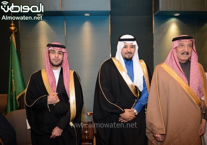 تغطية صحيفة المواطن زواج الأمير ماجد بن مساعد (91385912) 