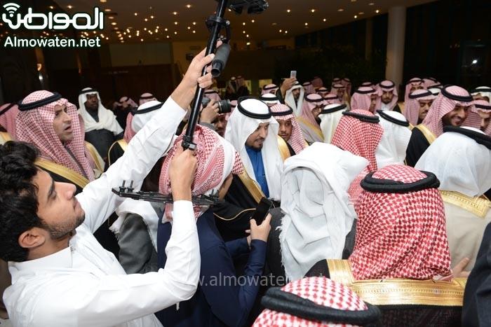 تغطية صحيفة المواطن زواج الأمير ماجد بن مساعد (91385913) 