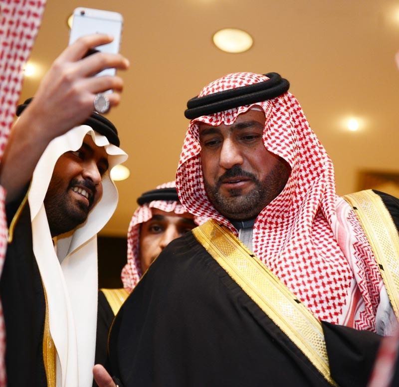 تغطية صحيفة المواطن زواج الأمير ماجد بن مساعد (91385914) 