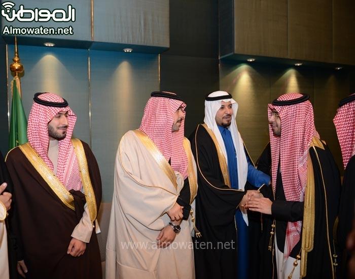 تغطية صحيفة المواطن زواج الأمير ماجد بن مساعد (91385915) 