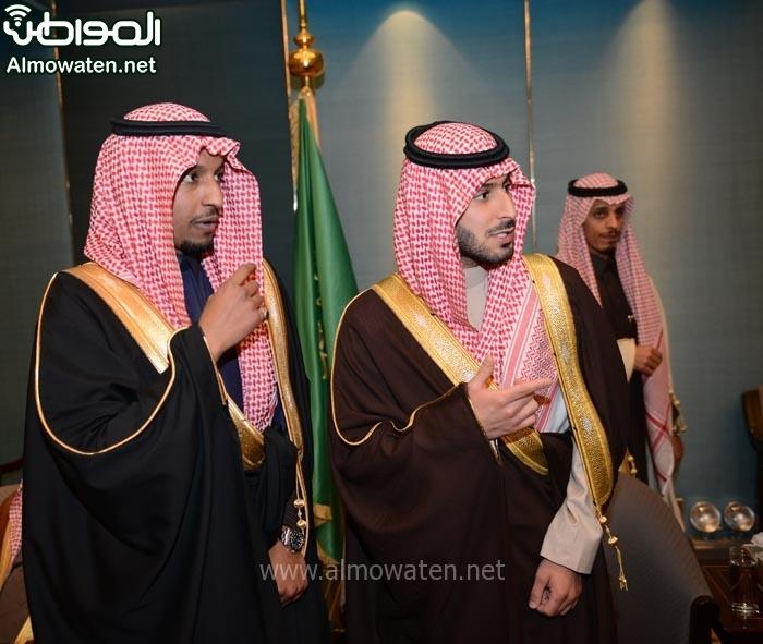 تغطية صحيفة المواطن زواج الأمير ماجد بن مساعد (91385916) 