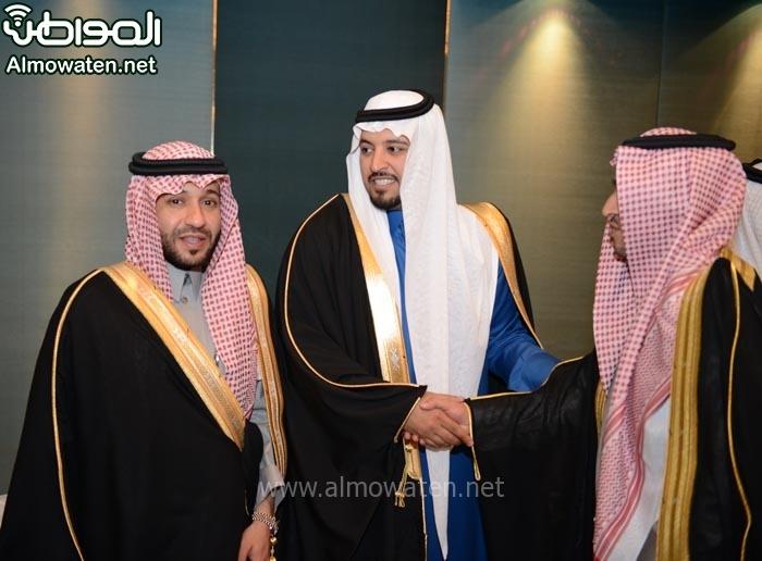 تغطية صحيفة المواطن زواج الأمير ماجد بن مساعد (91385920) 