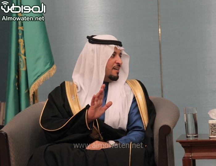 تغطية صحيفة المواطن زواج الأمير ماجد بن مساعد (91385921) 