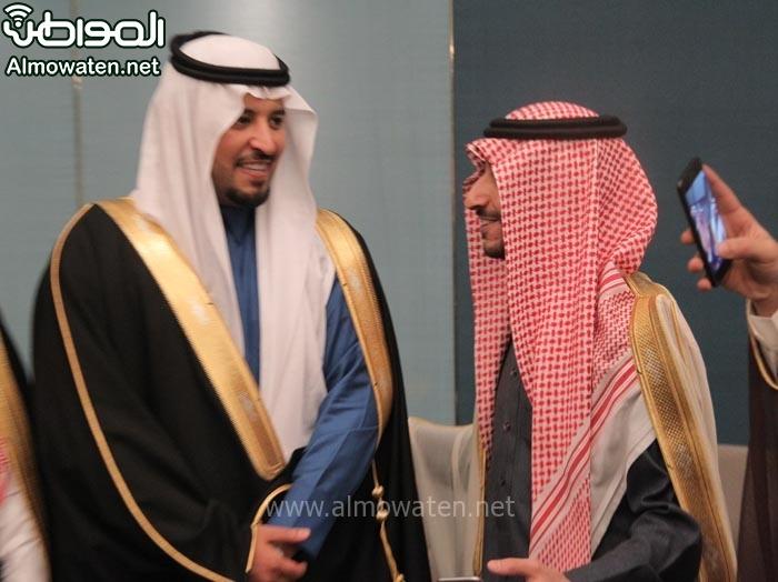 تغطية صحيفة المواطن زواج الأمير ماجد بن مساعد (91385924) 