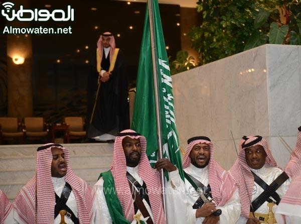تغطية صحيفة المواطن زواج الأمير ماجد بن مساعد (91385925) 