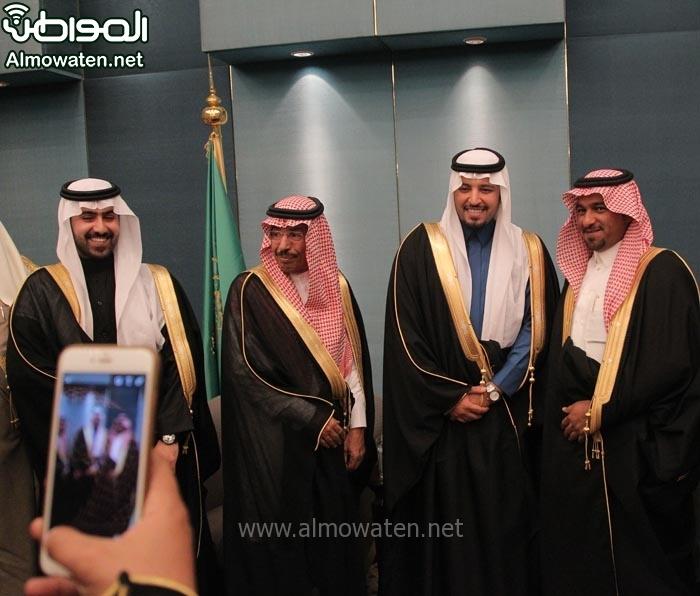 تغطية صحيفة المواطن زواج الأمير ماجد بن مساعد (91385927) 