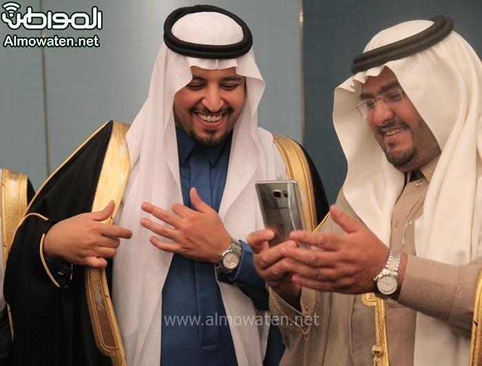 تغطية صحيفة المواطن زواج الأمير ماجد بن مساعد (91385928) 