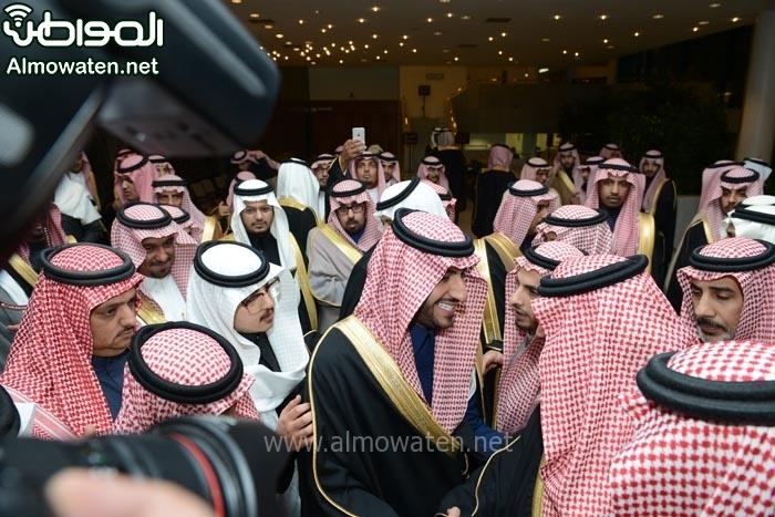تغطية صحيفة المواطن زواج الأمير ماجد بن مساعد (91385929) 