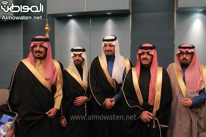 تغطية صحيفة المواطن زواج الأمير ماجد بن مساعد (91385930) 