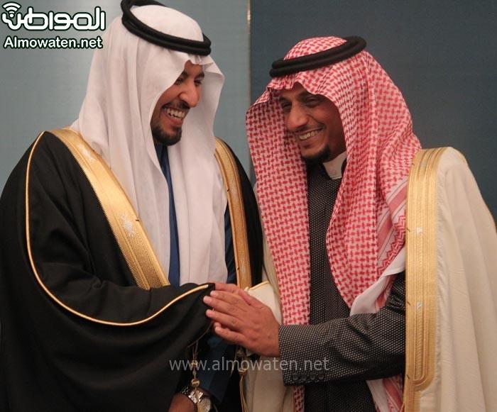 تغطية صحيفة المواطن زواج الأمير ماجد بن مساعد (91385931) 