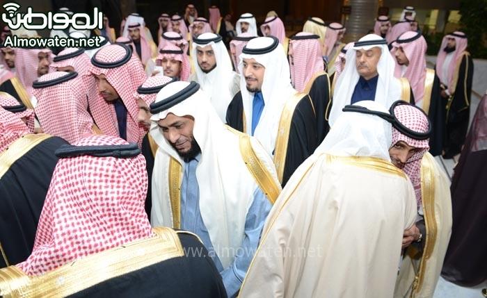 تغطية صحيفة المواطن زواج الأمير ماجد بن مساعد (91385933) 