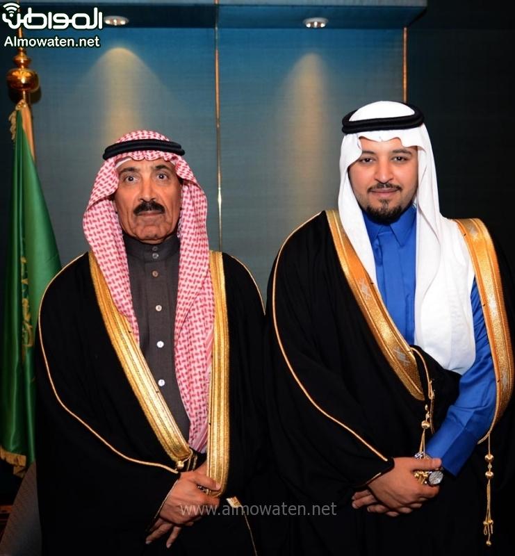تغطية صحيفة المواطن زواج الأمير ماجد بن مساعد (91385936) 
