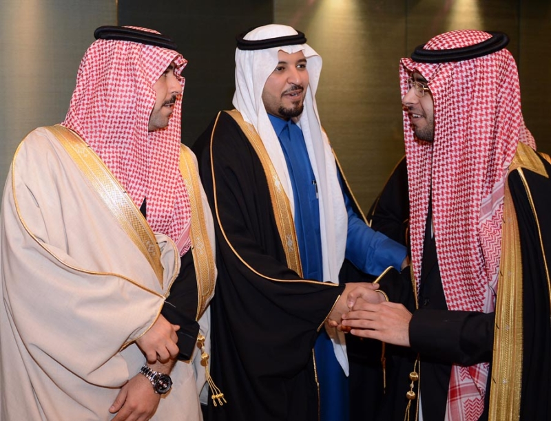 تغطية صحيفة المواطن زواج الأمير ماجد بن مساعد (91385937) 