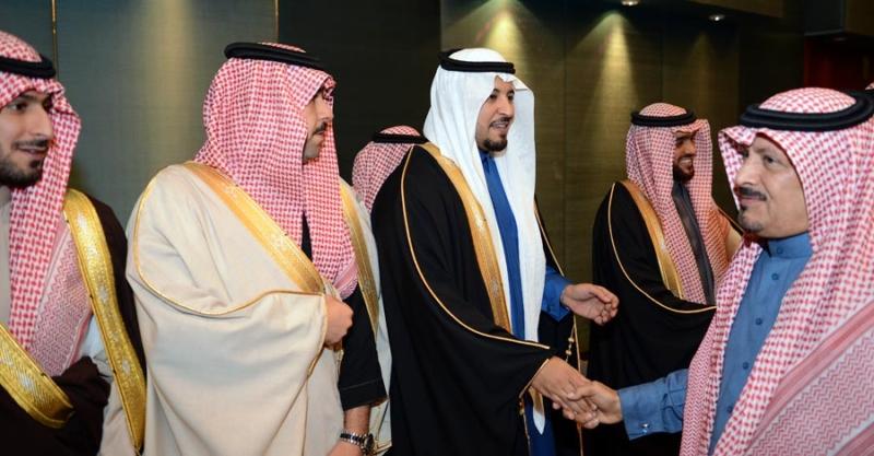 تغطية صحيفة المواطن زواج الأمير ماجد بن مساعد (91385938) 
