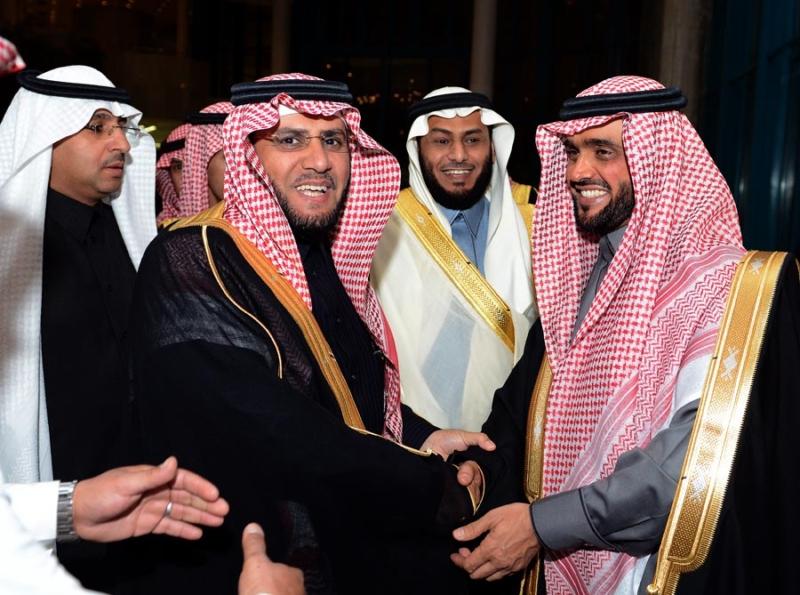 تغطية صحيفة المواطن زواج الأمير ماجد بن مساعد (91385941) 