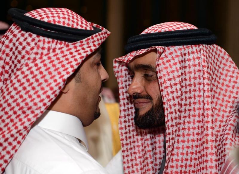 تغطية صحيفة المواطن زواج الأمير ماجد بن مساعد (91385942) 