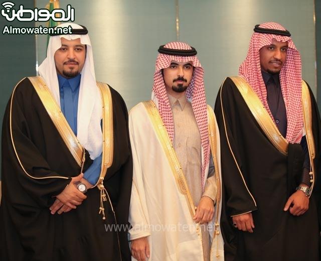 تغطية صحيفة المواطن زواج الأمير مساعد بن نواف (91834038) 