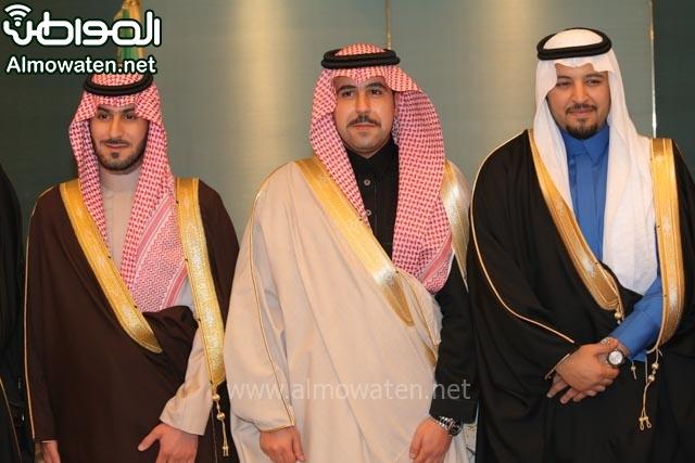 تغطية صحيفة المواطن زواج الأمير مساعد بن نواف (91834048) 