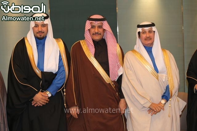 تغطية صحيفة المواطن زواج الأمير مساعد بن نواف (91834049) 