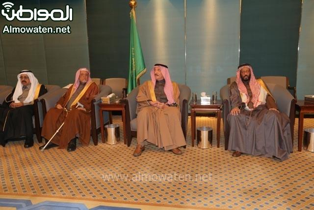 تغطية صحيفة المواطن زواج الأمير مساعد بن نواف (91834051) 