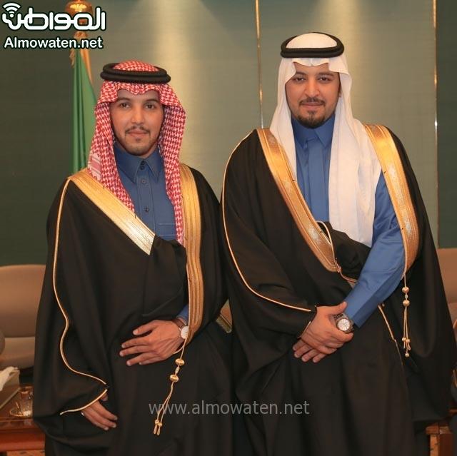 تغطية صحيفة المواطن زواج الأمير مساعد بن نواف (91834052) 