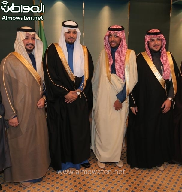 تغطية صحيفة المواطن زواج الأمير مساعد بن نواف (91834053) 