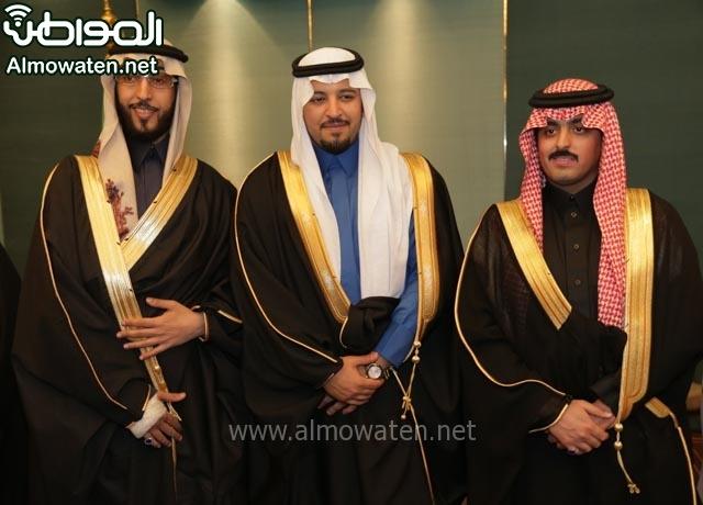 تغطية صحيفة المواطن زواج الأمير مساعد بن نواف (91834054) 