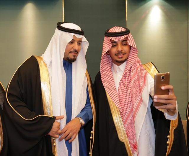 بالصور.. زواج الأمير مساعد بن نواف بن مساعد