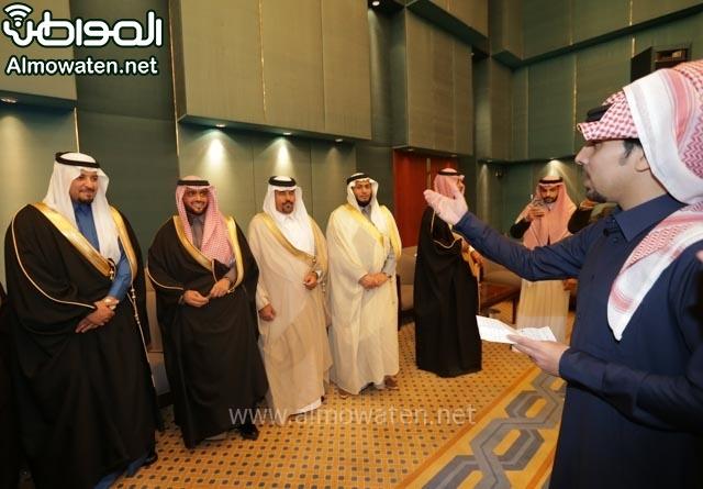 تغطية صحيفة المواطن زواج الأمير مساعد بن نواف (91834057) 