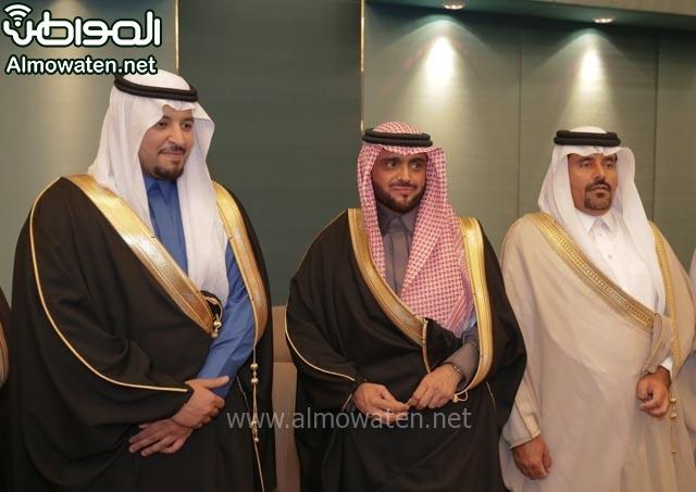 تغطية صحيفة المواطن زواج الأمير مساعد بن نواف (91834058) 