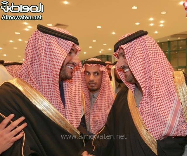 تغطية صحيفة المواطن زواج الأمير مساعد بن نواف (91834060) 