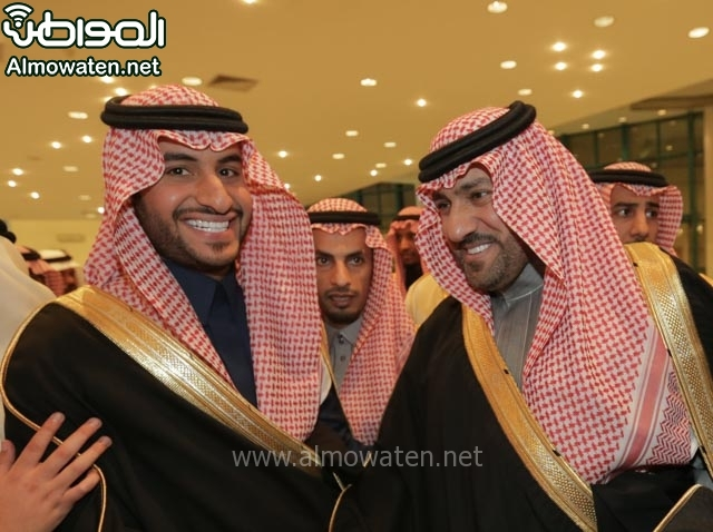 تغطية صحيفة المواطن زواج الأمير مساعد بن نواف (91834061) 