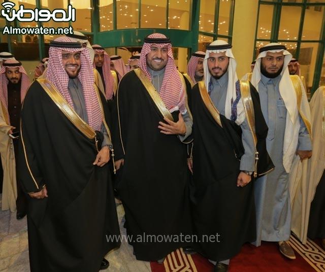 تغطية صحيفة المواطن زواج الأمير مساعد بن نواف (91834064) 