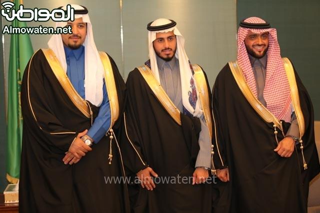 تغطية صحيفة المواطن زواج الأمير مساعد بن نواف (91834069) 