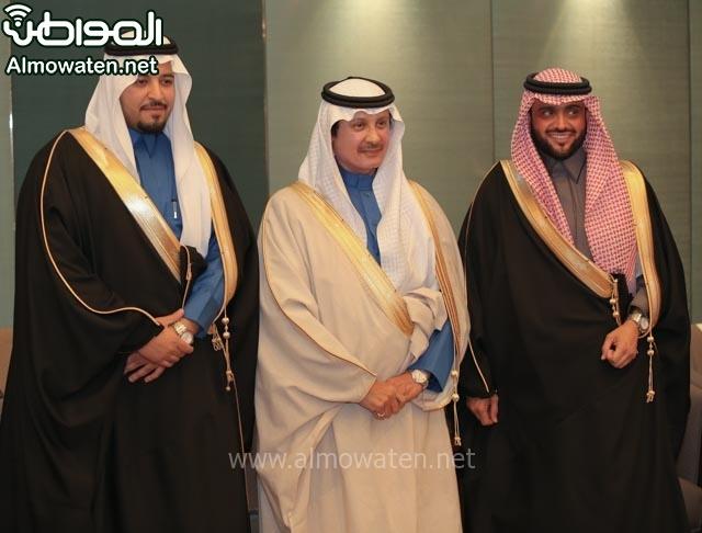 تغطية صحيفة المواطن زواج الأمير مساعد بن نواف (91834072) 