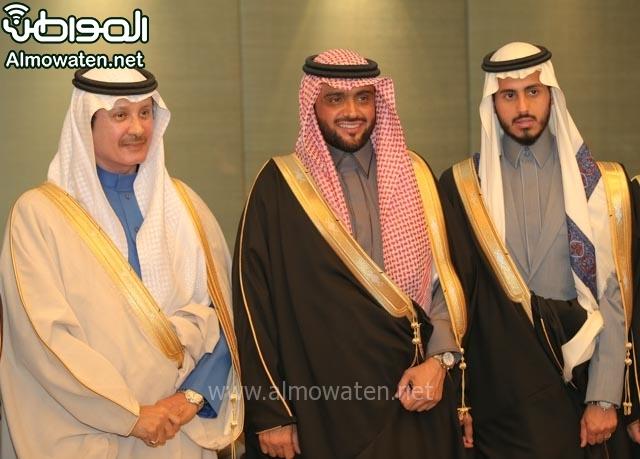 تغطية صحيفة المواطن زواج الأمير مساعد بن نواف (91834073) 