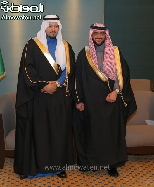 تغطية صحيفة المواطن زواج الأمير مساعد بن نواف (91834087) 