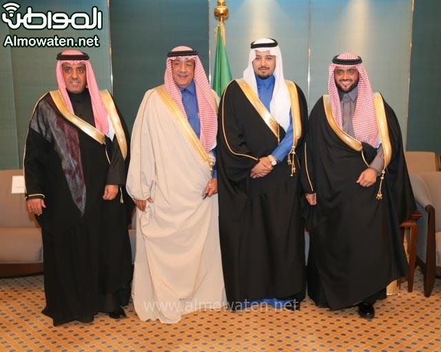 تغطية صحيفة المواطن زواج الأمير مساعد بن نواف (91834088) 
