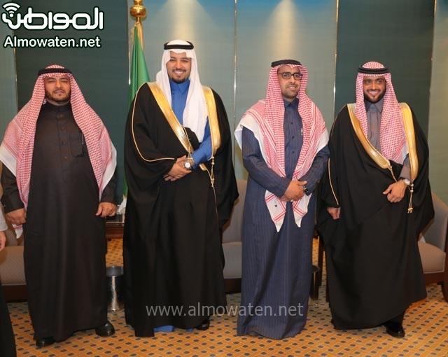 تغطية صحيفة المواطن زواج الأمير مساعد بن نواف (91834089) 