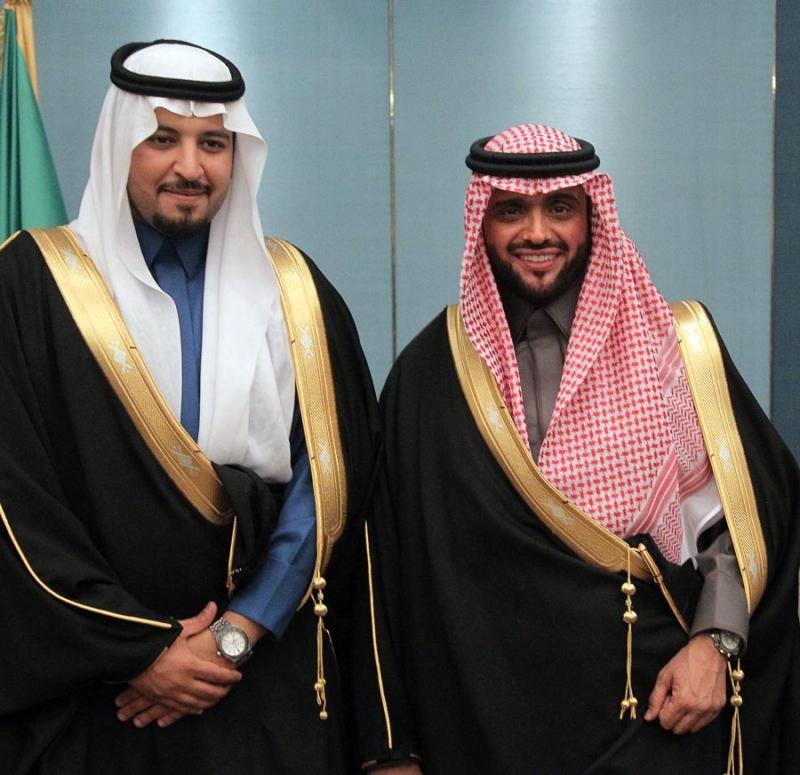 تغطية صحيفة المواطن زواج الأمير مساعد بن نواف (92262768) 