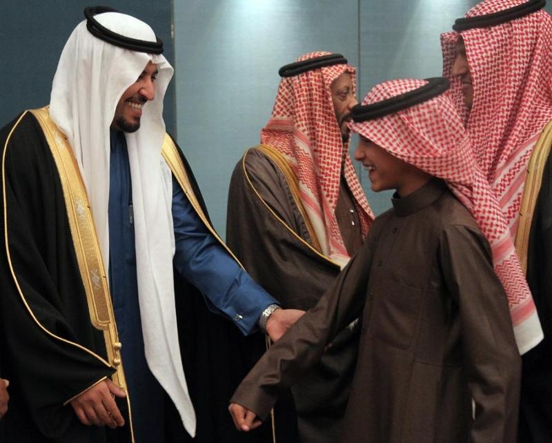 تغطية صحيفة المواطن زواج الأمير مساعد بن نواف (92262770) 