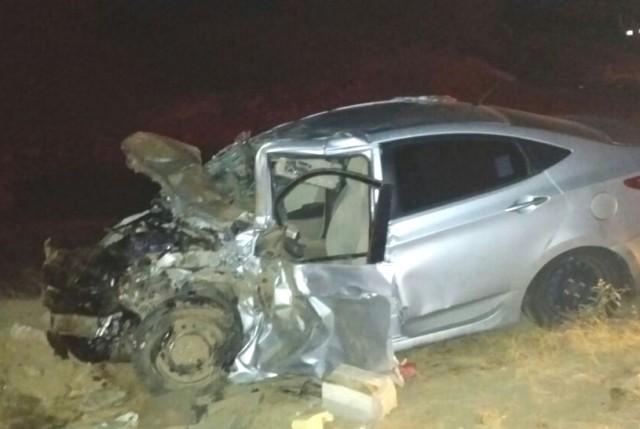 تفاصيل حادث مصرع وإصابة 4 في تصادم بطريق ثربان المجاردة (1)
