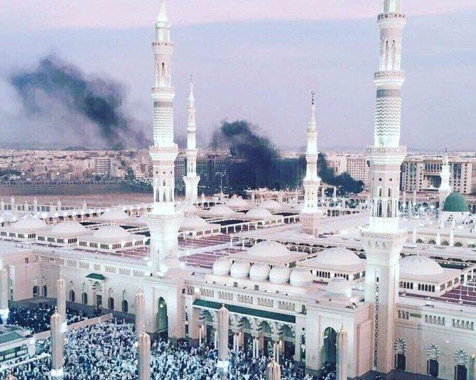 تفجير المسجد النبوي
