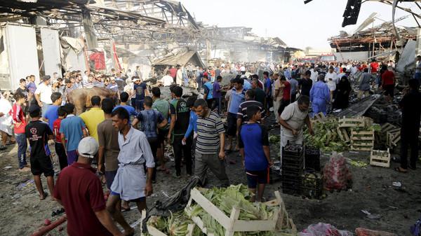 تفجير-انتحاري-يستهدف-عمالاً-وسط-بغداد