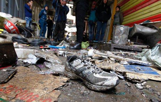 #عاجل .. قتيلان و4 جرحى حصيلة أولية لتفجير انتحاري في بغداد